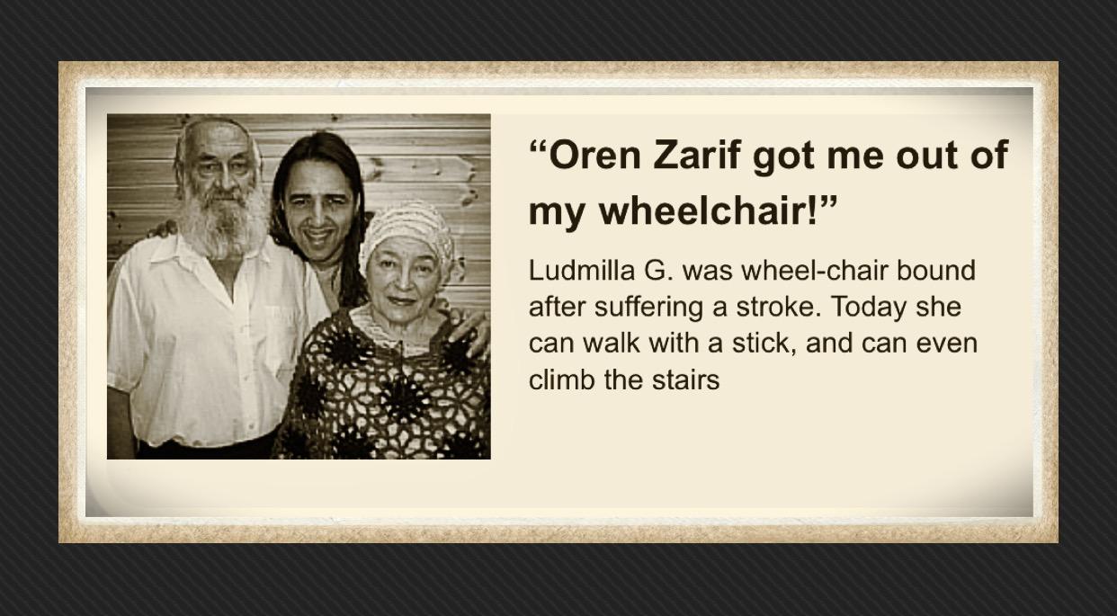 Oren Zarif Method of Treating Subconscious Psychokinesis. Mind Power